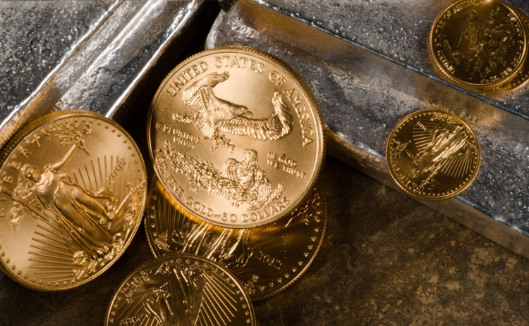 Wappentier In Gold Der American Gold Eagle